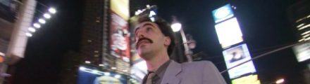 Borat in New York