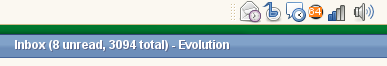 Evolution Statusicon Plugin