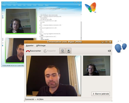 Empathy and MSN Messenger Audio/Video Chat